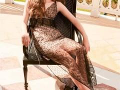 夏日黑纱 轻柔透凉 欧点连衣裙魅力不可抵挡!