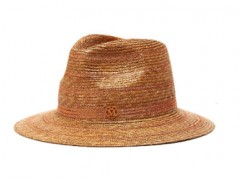 Maison Michel编织宽檐帽 让你夏天穿搭更出彩