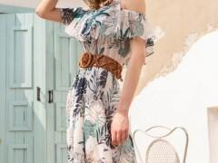 百图夏天想穿出仙女裙的feel 多套连衣裙穿搭策略需要get