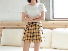 左韩小个子的夏天穿搭 简洁潮流又显风韵