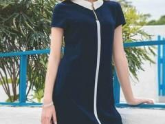 千百惠流行的裙装搭配 清新潮流又超显腿长