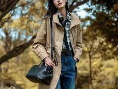 苏昔用风衣开启早秋服装搭配大片 时髦高级非常容易