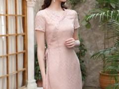 秋之浪漫 写在了女生的旗袍连衣裙上