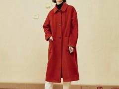 2020年新款女士服装长款呢子大衣