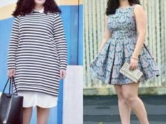 胖女孩子夏季应该如何着装搭配显瘦