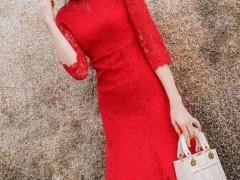 芝麻e柜为您而造 女性的风情尽在时髦典雅连衣裙中