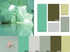 2021春夏女士服装色彩时尚剖析-混用天然绿色和医疗绿色
