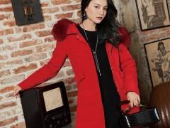布根香冬天红色单品服装搭配示例 叫你看上去明艳动人