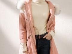 容悦羽绒棉服的休闲服装搭配 容易而有风韵 适合轻御姐人