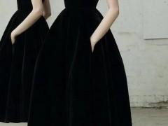 小黑裙如何穿好看
