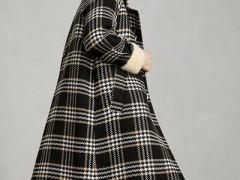 姚领秋冬季节盐甜系女生的保暖服装搭配示范 温顺减龄又有质感