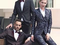 富绅气质男性西服 穿出时髦潮男的性感风韵!