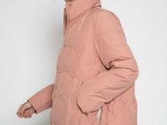 薇薇希文静羽绒棉服 时髦塑身显肤色 冬天温暖致极
