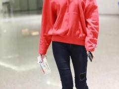 红色卫衣搭配什么裤子?