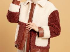 芊伊朵皮毛一体外套 好看又时髦 塑造精致生活
