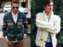 服装搭配 | 绝不出错的开衫服装搭配法则,换季变身质感暖男