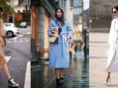 女性的百变瞬间,如何能少了这件系带大衣?