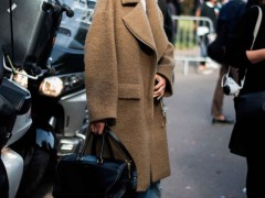 Oversize款驼色大衣,你值得拥有!