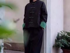 照本堂文静棉麻女士服装 清雅如兰 贵如四君子