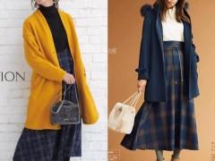 冬季穿哪种颜色大衣好看?