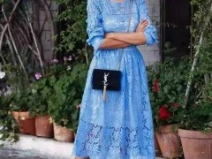 夏季应具备的连衣裙,如何才能穿出高级时髦感?
