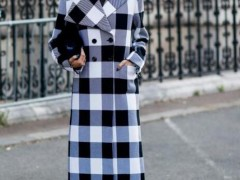 格纹大衣如何搭配最好?