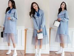 蓝色连衣裙配什么鞋?